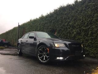 Used 2016 Chrysler 300 S + NAV + HEATED FT SEATS + SUNROOF + BACK-UP CAMERA + NO EXTRA DEALER FEES for sale in Surrey, BC