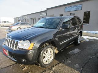 Used 2008 Jeep Grand Cherokee S-Limited,NAV,PARKING SENSORS,MINT for sale in Burlington, ON