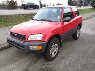 Used 1998 Toyota RAV4 2 DOOR for sale in Surrey, BC