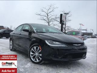 Used 2016 Chrysler 200 S**HEATED SEATS**HEATED STEERING WHEEL** for sale in Mississauga, ON