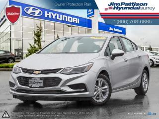 Used 2017 Chevrolet Cruze LT  Fuel Saver, Low Mileage for sale in Surrey, BC