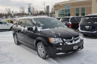Used 2015 Dodge Grand Caravan SXT - DVD, GPS, Bluetooth, Back up Cam for sale in London, ON