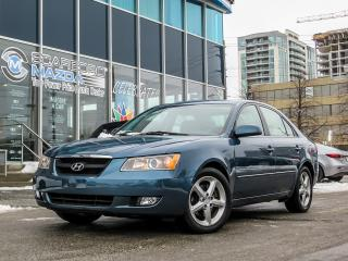 Used 2006 Hyundai Sonata GL/ LEATHER HEATER SEATS/ MOON ROOF/ NEW TIRES..... for sale in Scarborough, ON