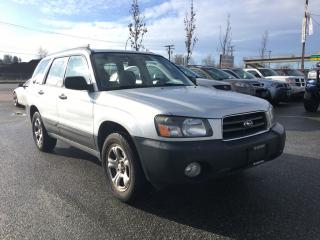 Used 2005 Subaru Forester 4dr 2.5 X Auto for sale in Coquitlam, BC