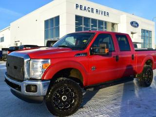 Used 2012 Ford F-250 XLT 4x4 SD Crew Cab 6.75 ft. box 156 in. WB for sale in Peace River, AB