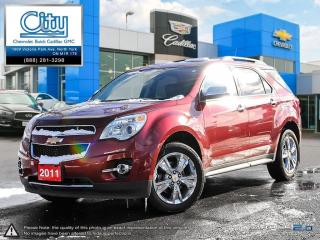 Used 2011 Chevrolet Equinox LTZ AWD 1SD for sale in North York, ON