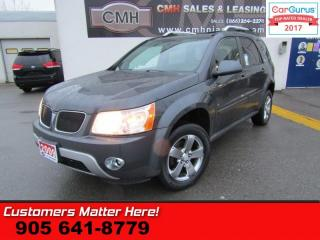 Used 2009 Pontiac Torrent Sport  PODIUM-EDITION, SUNROOF, ALLOYS, POWER GROUP for sale in St Catharines, ON