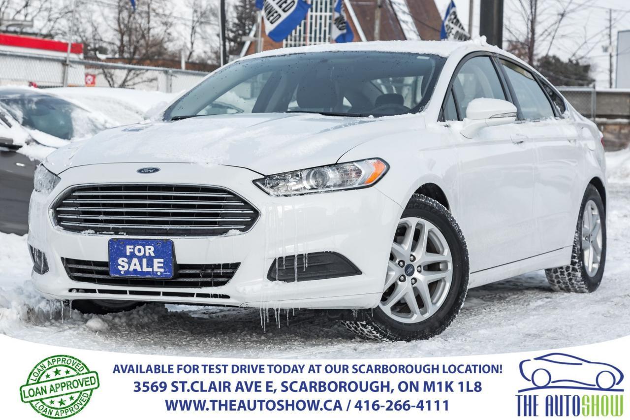 2015 Ford Fusion SE RearviewCam Bluetooth SatRadio Alloys