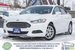 Used 2015 Ford Fusion SE RearviewCam Bluetooth SatRadio Alloys for sale in Scarborough, ON