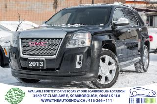 Used 2013 GMC Terrain Denali AWD NAVI BackupCam Bluetooth for sale in Caledon, ON