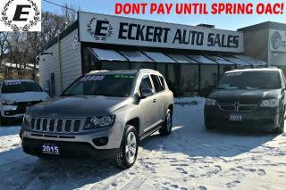 Used 2015 Jeep Compass North Edition 4x4 WITH ALLOY WHEELS for sale in Barrie, ON
