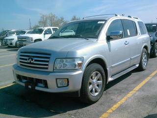 Used 2006 Infiniti QX56 DVD NAV 7 PASSANGER for sale in Brampton, ON