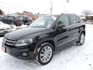 Used 2013 Volkswagen Tiguan Highline for sale in Pickering, ON