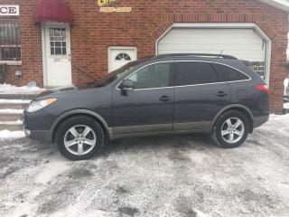 Used 2012 Hyundai Veracruz Limited AWD 7 Passenger Leather Sunroof for sale in Bowmanville, ON