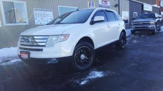 Used 2008 Ford Edge Limited-AWD-LEATHER-LOADED-AFTERMARKET WHEELS for sale in Tilbury, ON