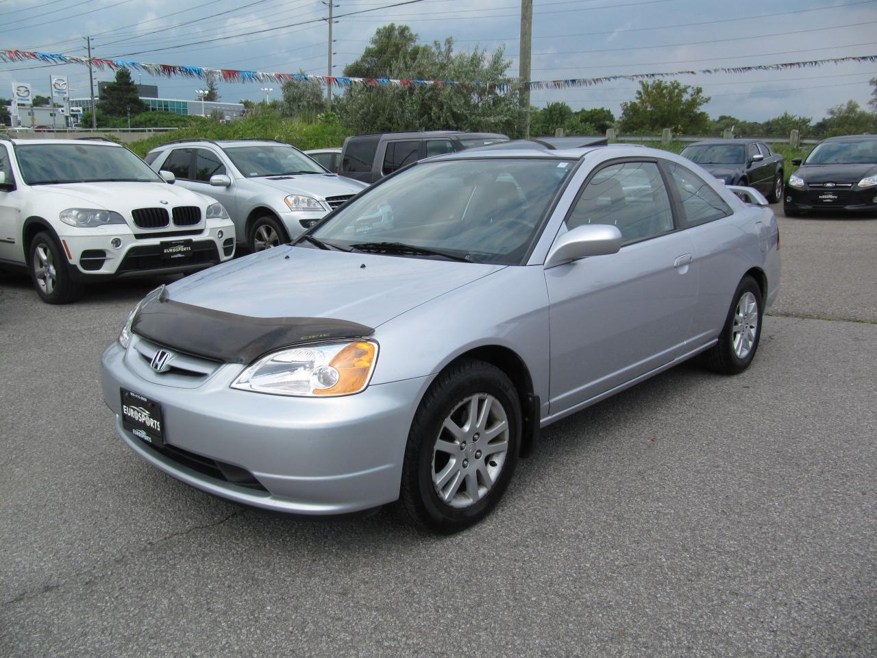 used 2003 honda civic si auto for sale in newmarket ontario. Black Bedroom Furniture Sets. Home Design Ideas