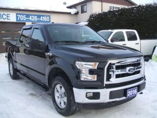 Used 2016 Ford F-150 XLT, crew cab, 4x4 for sale in Beaverton, ON