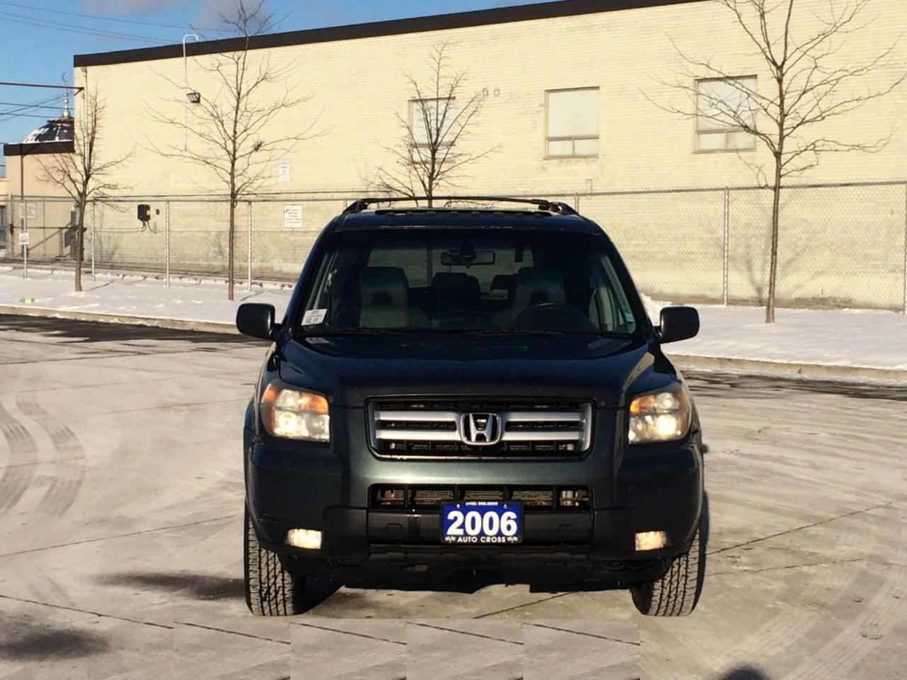 used 2006 honda pilot ex l 4wd 8 passanger automatic 3 y warranty ava for sale in north york. Black Bedroom Furniture Sets. Home Design Ideas