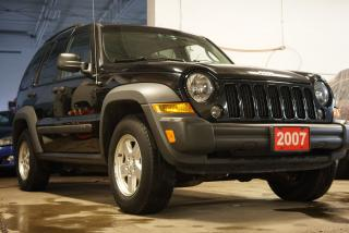 Used 2007 Jeep Liberty Sport,4WD,Sunroof for sale in North York, ON
