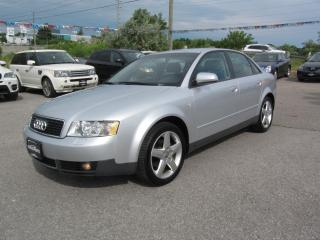Used 2004 Audi A4 1.8T AUTO for sale in Newmarket, ON