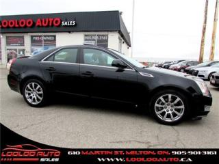 Used 2009 Cadillac CTS 3.6L Panoramic sunroof Certified 2YR Warranty for sale in Milton, ON
