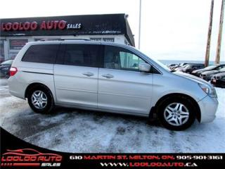 Used 2007 Honda Odyssey EX-L Power Sliding Door Leather for sale in Milton, ON