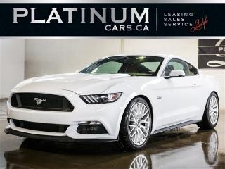 Used 2016 Ford Mustang GT V8 435HP, 6SPD, CAM, PREMIUM, RED LTHR for sale in North York, ON