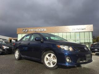 Used 2012 Toyota Corolla S - Sunroof, Allloy wheels, Heated seat for sale in Port Coquitlam, BC