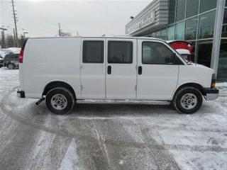 Used 2016 GMC Savana 2500 3/4 ton gas cargo van loaded for sale in Richmond Hill, ON