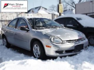 Used 2001 Chrysler Neon LE for sale in Toronto, ON