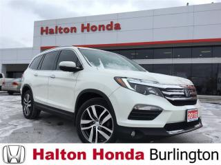 Used 2016 Honda Pilot TOUR|SERVICE HISTORY ON FILE|ACCIDENT FREE for sale in Burlington, ON