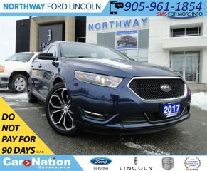 Used 2017 Ford Taurus SHO   NAV   HEATED LEATHER   SUN ROOF   for sale in Brantford, ON