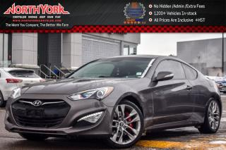 Used 2013 Hyundai Genesis Coupe GT|Sunroof|Infinity Audio|Keyless_Go|Pkng_Sensors for sale in Thornhill, ON
