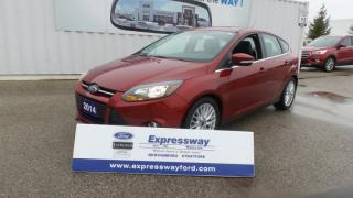 Used 2014 Ford Focus Titanium 2.0L 160Hp Leather, Moon, Navi for sale in Stratford, ON