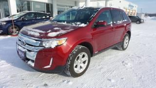 Used 2014 Ford Edge SEL, AWD, Leather, Moonroof, NavSys, Local Trade In for sale in Stratford, ON