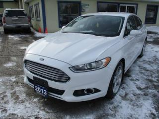 Used 2013 Ford Fusion POWER EQUIPPED SE EDITION 5 PASSENGER 2.0L - DOHC.. AWD.. HEATED SEATS.. SYNC TECHNOLOGY.. BLUETOOTH SYSTEM.. for sale in Bradford, ON