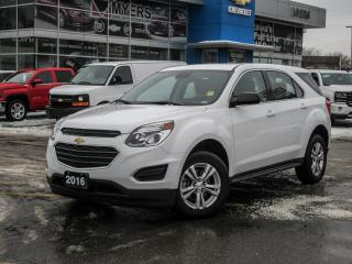 Used 2016 Chevrolet Equinox LS, FWD, REAR VISION CAMERA, BLUETOOTH ONLY 32586 KM! for sale in Ottawa, ON