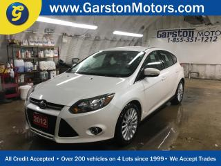 Used 2012 Ford Focus Titanium*LEATHER*MICROSOFT SYNC PHONE CONNECT*SONY AUDIO*HEATED FRONT SEATS*POWER DRIVER SEAT*DUAL ZONE CLIMATE CONTROL* for sale in Cambridge, ON