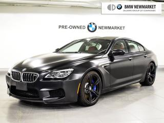 Used 2017 BMW M6 Gran Coupe for sale in Newmarket, ON