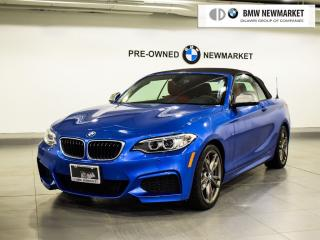 Used 2017 BMW M240i xDrive Cabriolet for sale in Newmarket, ON