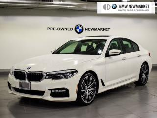 Used 2017 BMW 540i xDrive Sedan for sale in Newmarket, ON
