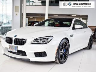 Used 2017 BMW M6 Coupe for sale in Newmarket, ON