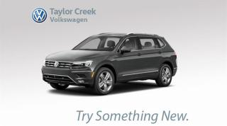 New 2018 Volkswagen Tiguan Comfortline 2.0T 8sp at w/Tip 4MOTION for sale in Orleans, ON