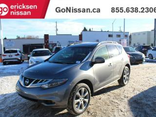 Used 2013 Nissan Murano LE: PLATINUM, NAVIGATION, LEATHER for sale in Edmonton, AB