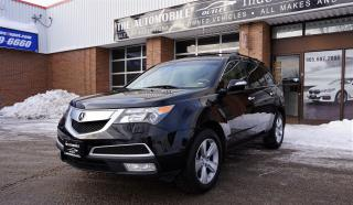 Used 2011 Acura MDX AWD NAVI DVD BACK-UP 7 PASSENGERS NO ACCIDENT for sale in Mississauga, ON