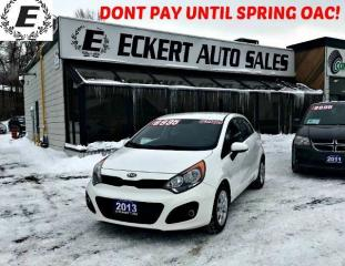 Used 2013 Kia Rio LX+ ECO HATCHBACK WITH BLUETOOTH for sale in Barrie, ON