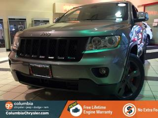 Used 2013 Jeep Grand Cherokee OVERLAND, GREAT CONDITION, FULLY LOADED, LOCAL BC VEHICLE, FREE LIFETIME ENGINE WARRANTY! for sale in Richmond, BC