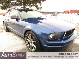 Used 2008 Ford Mustang 4.0L - V6 - Manual for sale in Woodbridge, ON