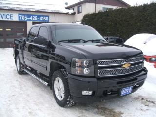 Used 2012 Chevrolet Silverado 1500 LTZ, Crew Cab, 4x4 for sale in Beaverton, ON