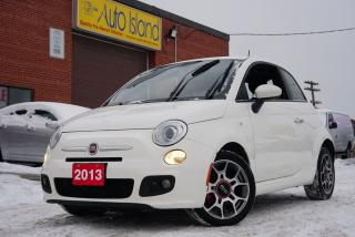 Used 2013 Fiat 500 Sport,Bluetooth,Leather,Sunroof for sale in North York, ON